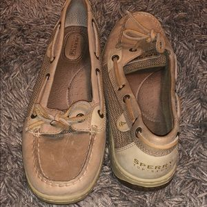 Sperry top sider boat shoes. Size 9